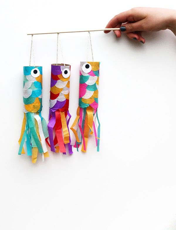 Japanese DIY Gift idea Koinobori