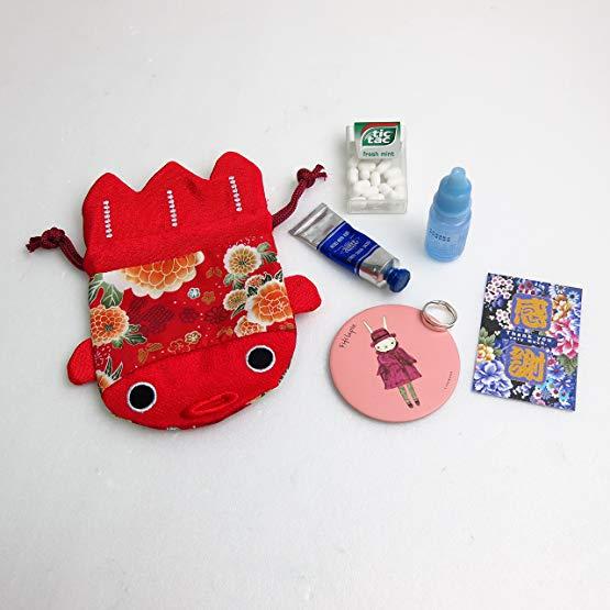 Japanese Gifts Kimono fabric purse