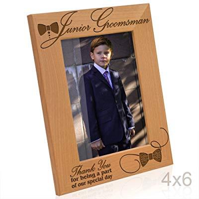 Jr groomsmen gift picture frame