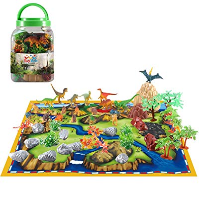 Junior groomsman gift idea Dinosaur play set