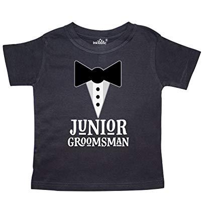 Junior Groomsman gift idea T-shirt