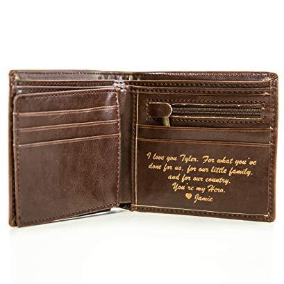 Junior groomsman gift idea Personalized wallet
