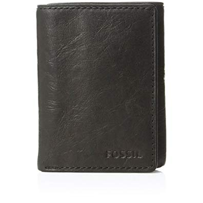 Gift for reader at your wedding - Men's Leather Trifold Wallet