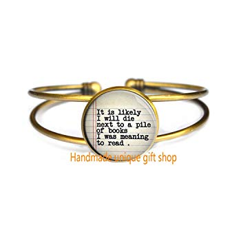 Gift idea for reader at wedding - Handmade Unique Delicate Bracelet