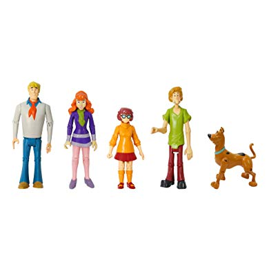 Scooby Doo Gifts Mystery Mates Figures