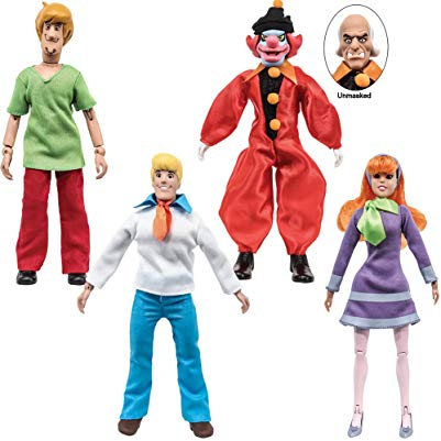 Scooby Doo Gifts Retro Action Figures