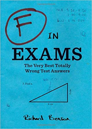 Teacher retirement gifts Book F in Exams The Very Best Totally Wrong Test Answers