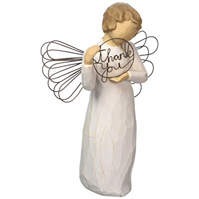 Teacher retirement gifts Hand-painted sculpted angel