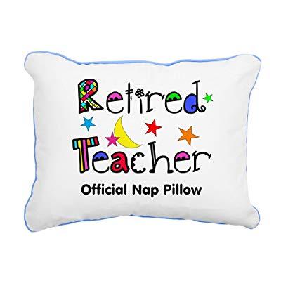 Teacher retirement gifts Retired Teacher Nap Pillow