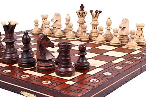 Teacher retirement gifts Unique Wood Chess Set
