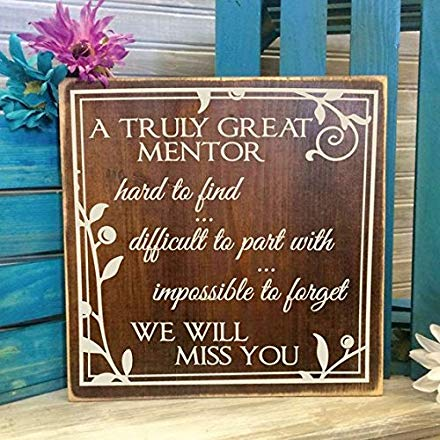 Teacher retirement gifts idea Wood Sign Appreciation
