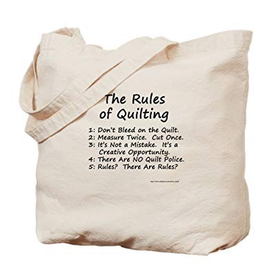 Unique gifts for quilters Natural Canvas Tote Bag