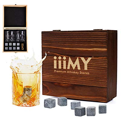 Wedding reader - Whiskey Stones and Glasses Gift Set
