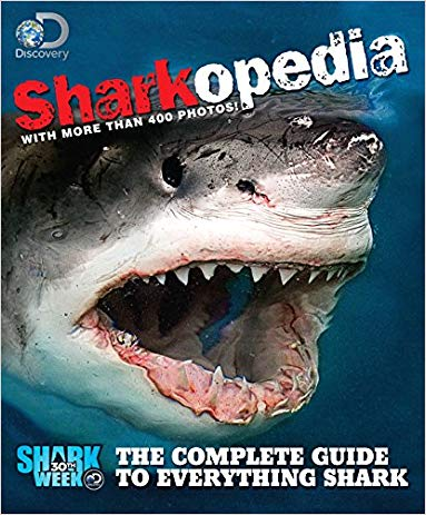 cool shark gifts Sharkopedia: The Complete Guide to Everything Shark