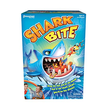 shark present ideas Pressman Toys Shark Bite Game