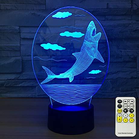 shark gift idea Kids Night Lights