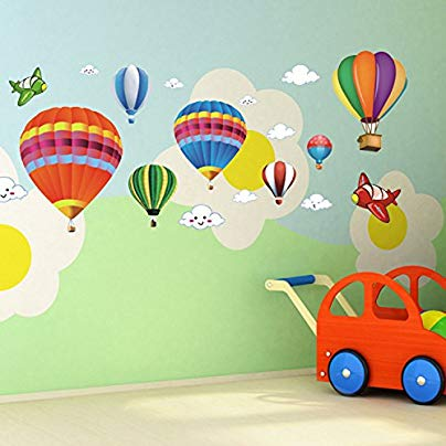 hot air balloon themed gifts for babies and kids 2.