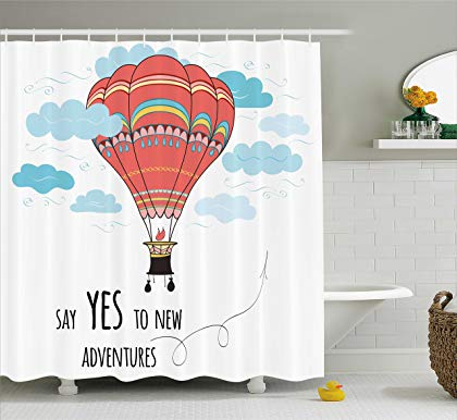 Fabric Bathroom Decor Set · Hot Air Balloons ...