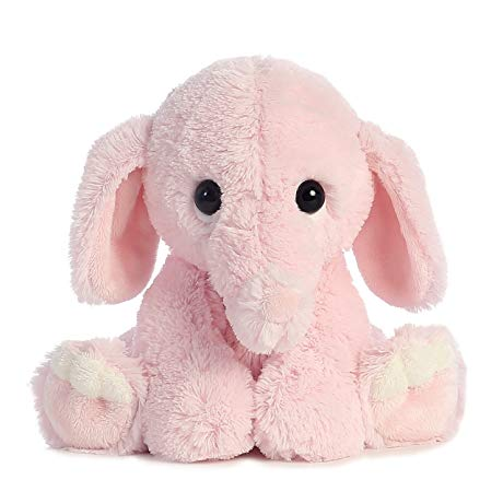 one of the cutest elephant stuffies
