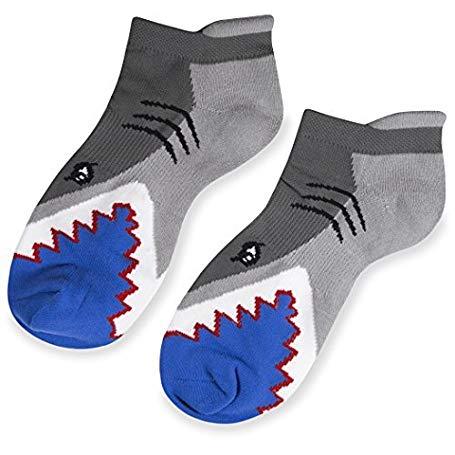 shark gifts for her Shark Attack socks