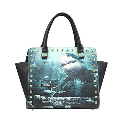 shark gifts for girlfriend or wife Shark themed handbag