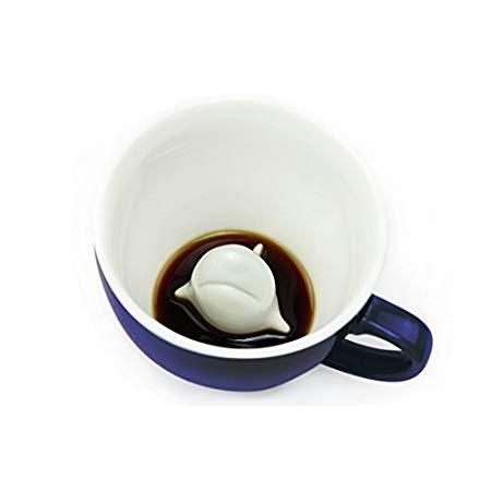 cute shark gift Shark Ceramic Cup