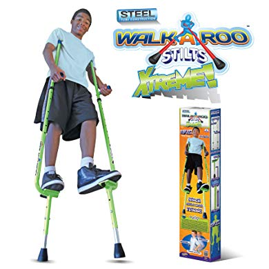 Stilts gift for boys age 14 who love running and acrobatics