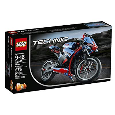 LEGO Technic Street Motorcycle gift for Lego and Motorcycle boy fan