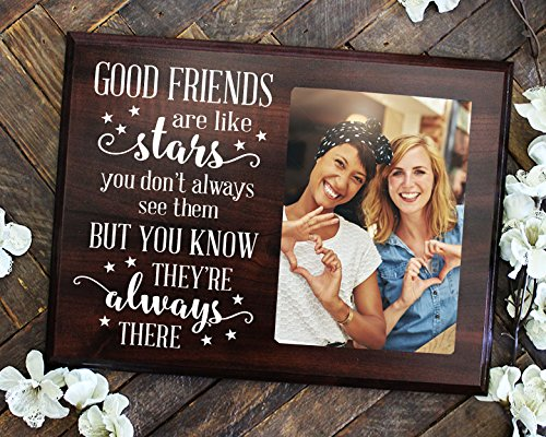 A gift for a long distance friend Picture frame