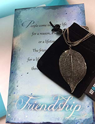 Friendship Necklace and Greeting Card Gift Set