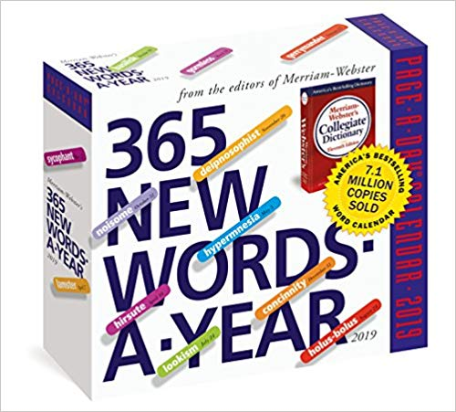 Gifts for English Teachers 12 - 365 New Words-A-Year