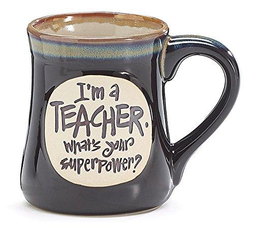 Gifts for English Teachers 16 - Teacher Superpower Mug
