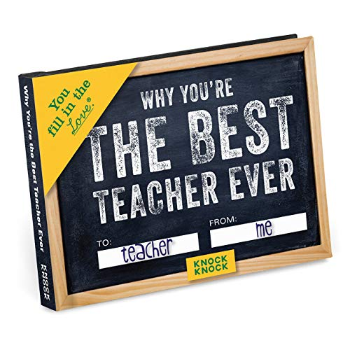 Gifts for English Teachers 19 - Why You're the Best Teacher Ever