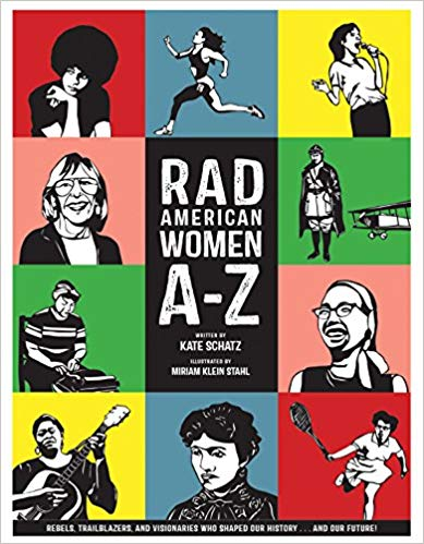 Gifts for English Teachers 2 - Rad American Women A-Z