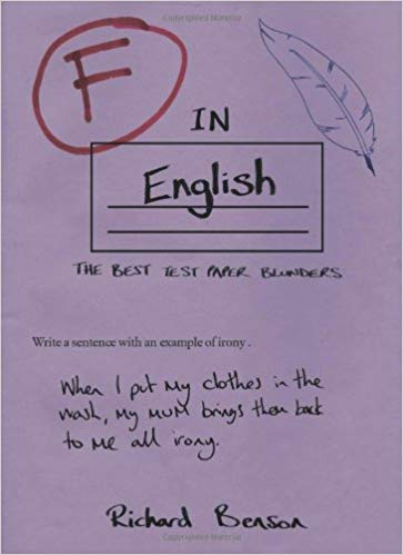 Gifts for English Teachers 23 - F in English