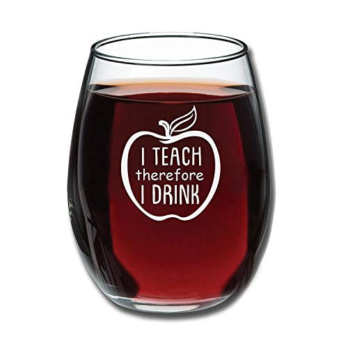 Gifts for English Teachers 4 - Wine Glass