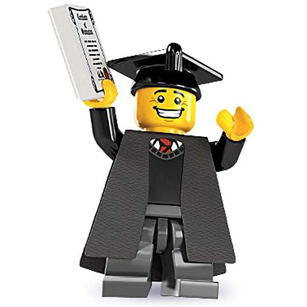 Graduation Gift Ideas Mini Lego Figure Graduate