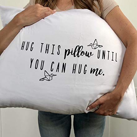 Pillowcase Long Distance Relationship Gifts