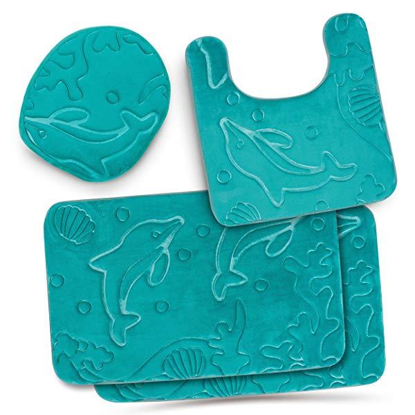 dolphin gift ideas  Bathroom Rug Mat