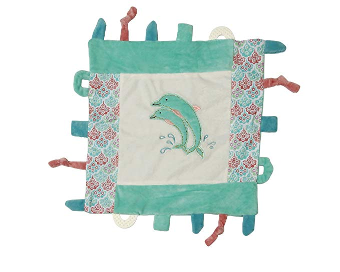 dolphin gifts for kids Maison Chic Multifunction Blankie, Daphne The Dolphin
