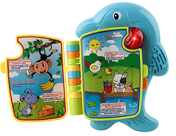 dolphin gifts for kids Baby Dolphin Learning & Music Book
