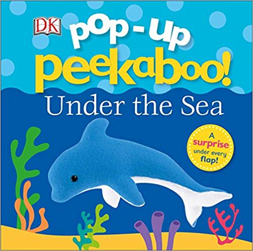 dolphin themed gifts Pop-up Peekaboo: Under the Sea