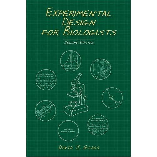 Gift idea Experimental Design for Biologists