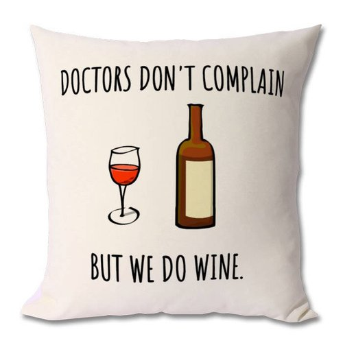 Funny doctor cushion, medical doctor comical gift