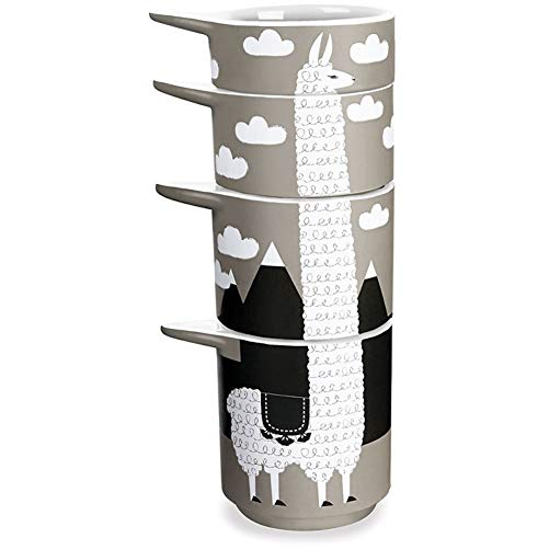 Llama gifts Measuring Cup Set
