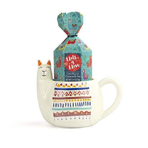 """Llama gifts The Llama Mug""""Lots of Love"""""""