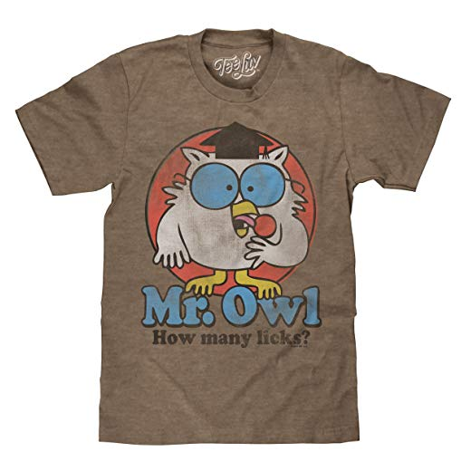 Owl Gifts Mr. Owl How Many Licks?