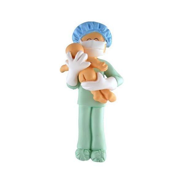 Obgyn Obstetricain Midwife Baby Doctor Pediatrian Labor Nurse Ornament Gift