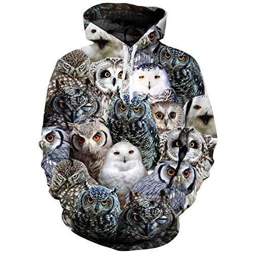 Owl Gifts themed hoodie