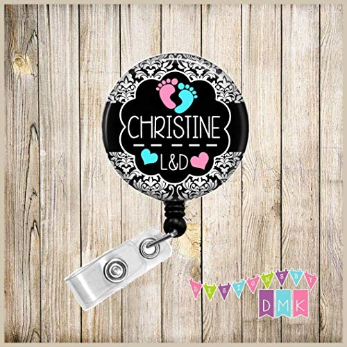 Personalized Labor & Delivery gift Button Badge